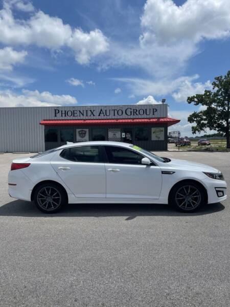 2014 Kia Optima for sale at PHOENIX AUTO GROUP in Belton TX