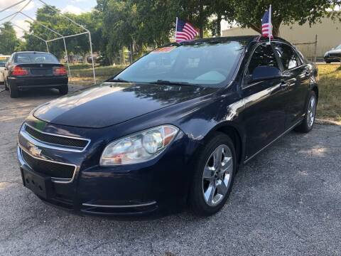 2009 Chevrolet Malibu for sale at EXECUTIVE CAR SALES LLC in North Fort Myers FL