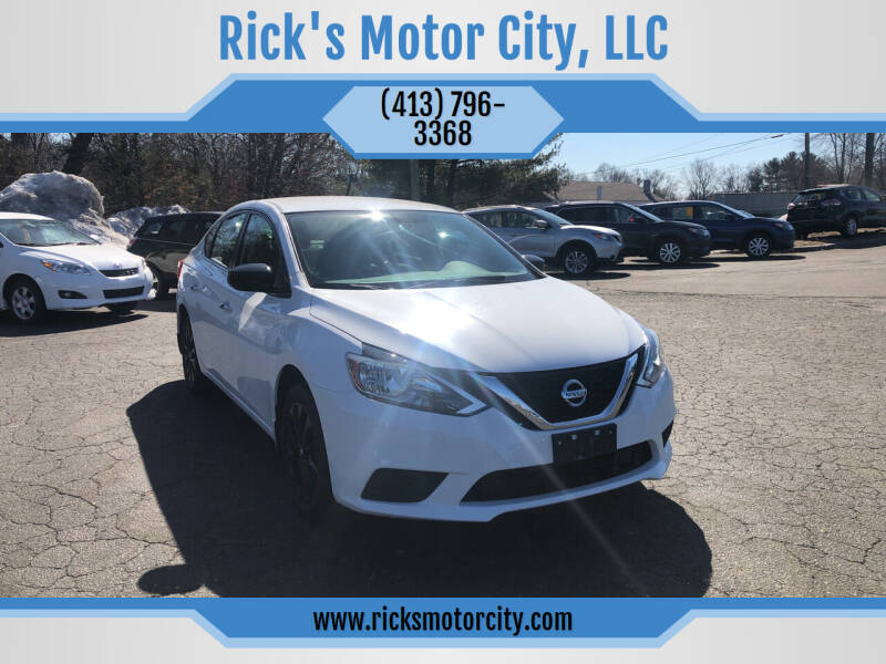 2018 Nissan Sentra for sale at Rick's Motor City, LLC in Springfield MA