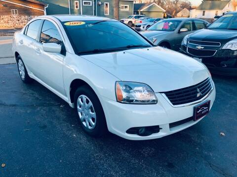 2009 Mitsubishi Galant for sale at SHEFFIELD MOTORS INC in Kenosha WI