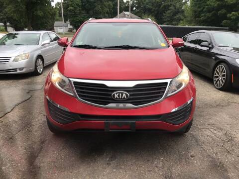 2013 Kia Sportage for sale at Worldwide Auto Sales in Fall River MA