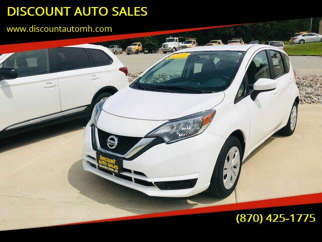 2018 Nissan Versa Note for sale at DISCOUNT AUTO SALES in Mountain Home AR