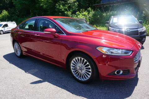 2014 Ford Fusion for sale at Bloom Auto in Ledgewood NJ