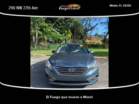 2017 Hyundai Sonata for sale at Fuego's Cars in Miami FL
