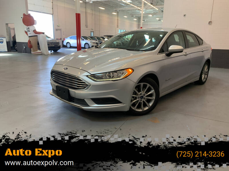 2017 Ford Fusion Hybrid for sale at Auto Expo in Las Vegas NV