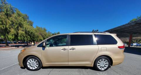 2013 Toyota Sienna for sale at ALL CREDIT AUTO SALES in San Jose CA