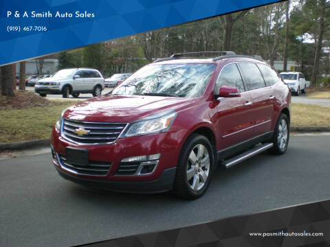 2013 Chevrolet Traverse for sale at P & A Smith Auto Sales in Cary NC