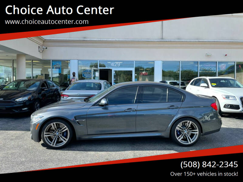 2015 BMW M3 for sale at Choice Auto Center in Shrewsbury MA