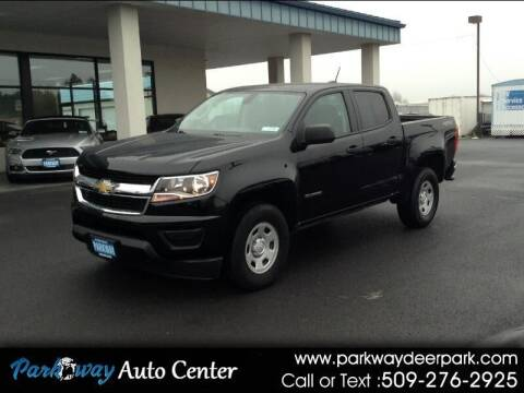 2016 Chevrolet Colorado for sale at PARKWAY AUTO CENTER AND RV in Deer Park WA