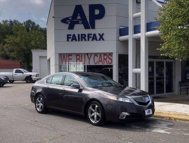 2010 Acura TL for sale at AP Fairfax in Fairfax VA