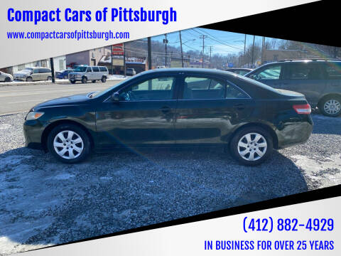 2010 Toyota Camry for sale at Compact Cars of Pittsburgh in Pittsburgh PA