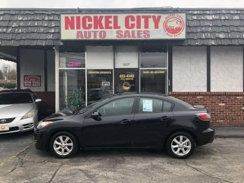 2011 Mazda MAZDA3 for sale at NICKEL CITY AUTO SALES in Lockport NY