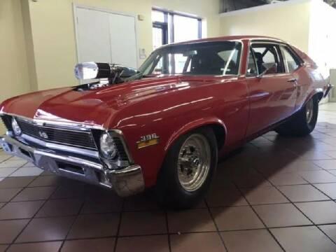 1970 Chevrolet Nova for sale at Limitless Garage Inc. in Rockville MD