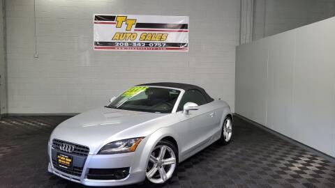 2010 Audi TT for sale at TT Auto Sales LLC. in Boise ID