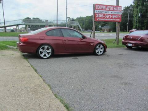2011 BMW 3 Series for sale at Colvin Auto Sales in Tuscaloosa AL