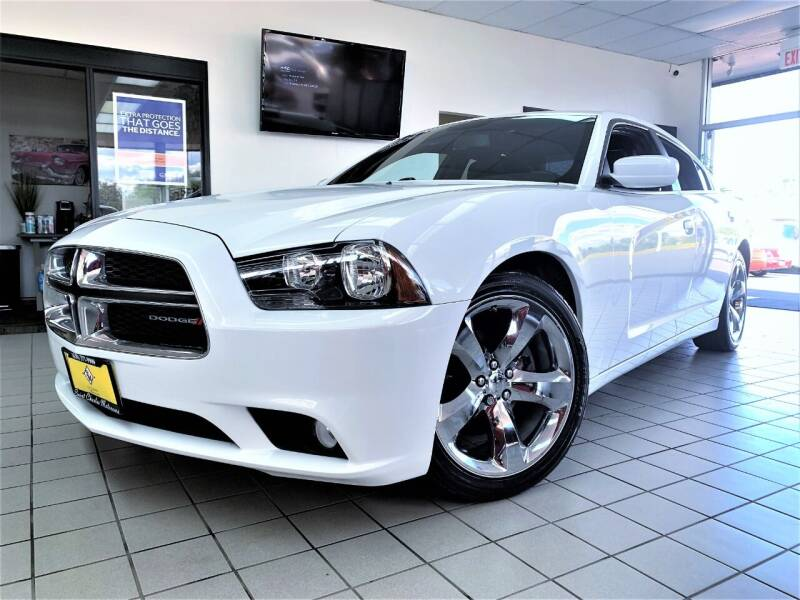 2014 Dodge Charger for sale at SAINT CHARLES MOTORCARS in Saint Charles IL