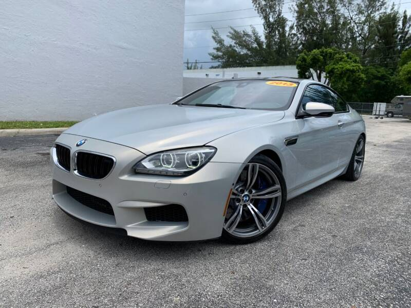 2013 BMW M6 for sale at Best Price Car Dealer in Hallandale Beach FL