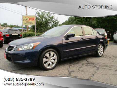 2010 Honda Accord for sale at AUTO STOP INC. in Pelham NH