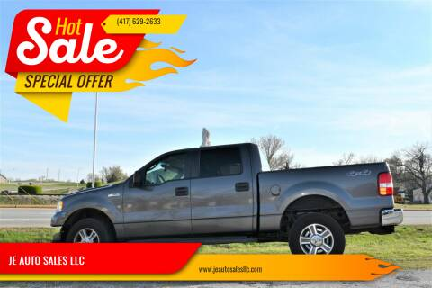 2007 Ford F-150 for sale at JE AUTO SALES LLC in Webb City MO
