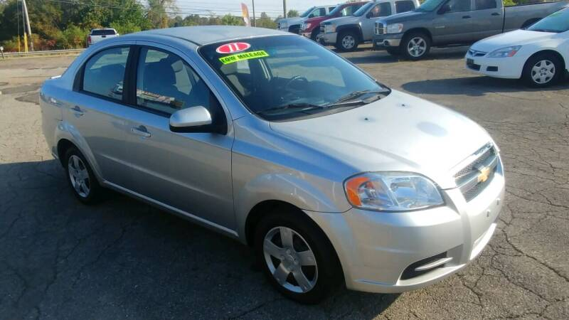 2011 Chevrolet Aveo for sale at AutoBoss PRE-OWNED SALES in Saint Clairsville OH