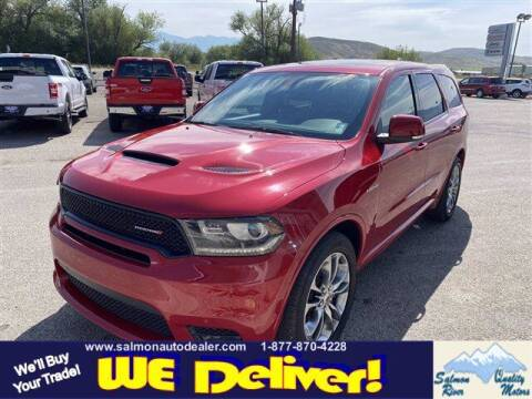 2020 Dodge Durango for sale at QUALITY MOTORS in Salmon ID