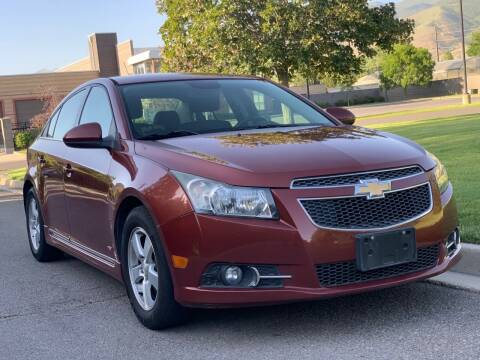 2013 Chevrolet Cruze for sale at A.I. Monroe Auto Sales in Bountiful UT
