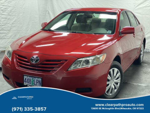 2007 Toyota Camry for sale at CLEARPATHPRO AUTO in Milwaukie OR