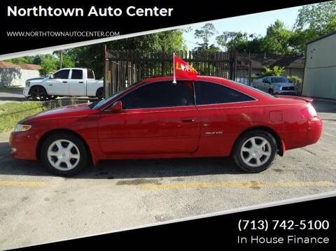 2003 Toyota Camry Solara for sale at Northtown Auto Center in Houston TX