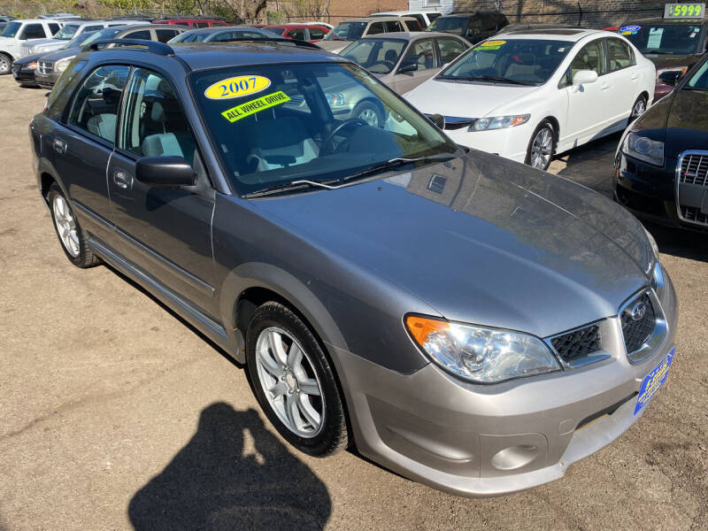 2007 Subaru Impreza for sale at 5 Stars Auto Service and Sales in Chicago IL