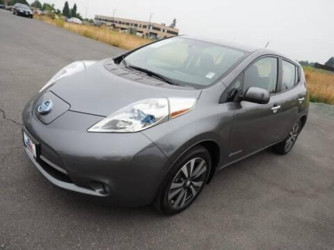 2015 Nissan LEAF for sale at Karmart in Burlington WA