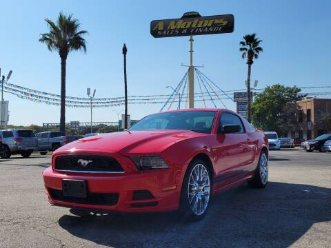 2013 Ford Mustang for sale at A MOTORS SALES AND FINANCE - 6226 San Pedro Lot in San Antonio TX