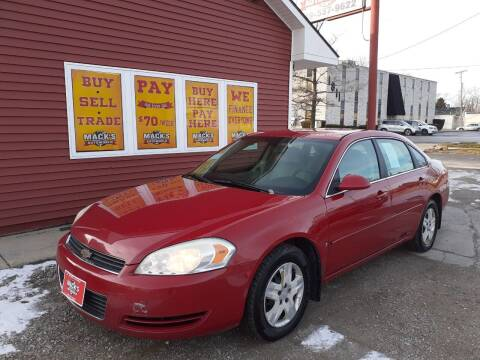 2008 Chevrolet Impala for sale at Mack's Autoworld in Toledo OH