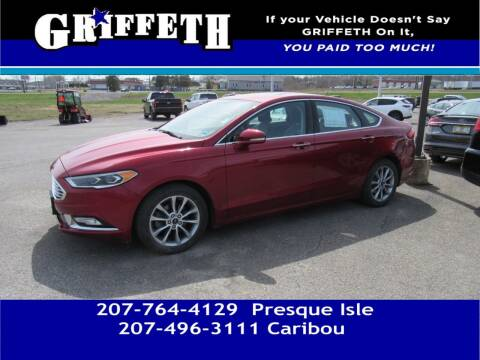 2017 Ford Fusion for sale at Griffeth Mitsubishi - Pre-owned in Caribou ME
