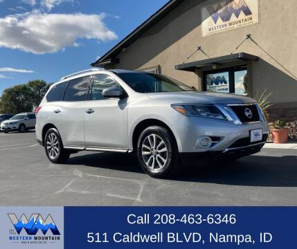 2014 Nissan Pathfinder for sale at Western Mountain Bus & Auto Sales in Nampa ID