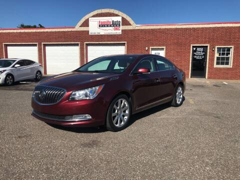 2015 Buick LaCrosse for sale at Family Auto Finance OKC LLC in Oklahoma City OK