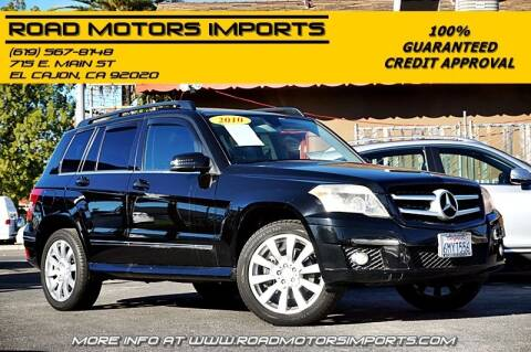 2010 Mercedes-Benz GLK for sale at Road Motors Imports in El Cajon CA