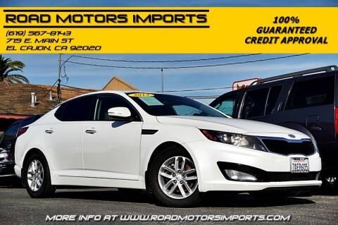 2013 Kia Optima for sale at Road Motors Imports in El Cajon CA