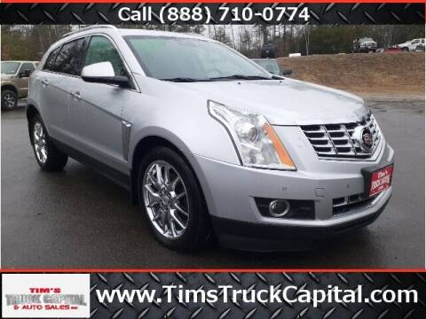 2013 Cadillac SRX for sale at TTC AUTO OUTLET/TIM'S TRUCK CAPITAL & AUTO SALES INC ANNEX in Epsom NH