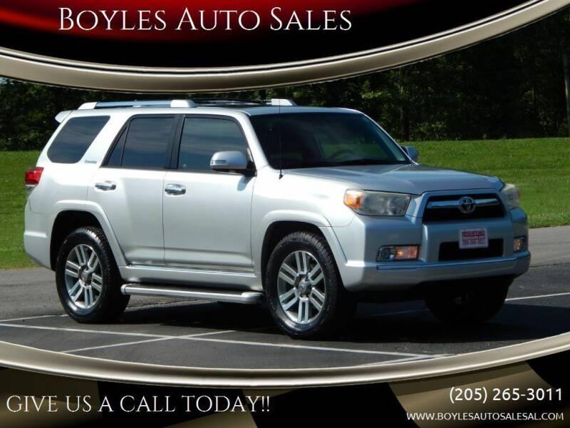2012 Toyota 4Runner for sale at Boyles Auto Sales in Jasper AL