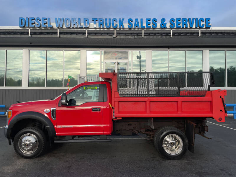 2017 Ford F-550 Super Duty for sale at Diesel World Truck Sales - Dump Truck in Plaistow NH