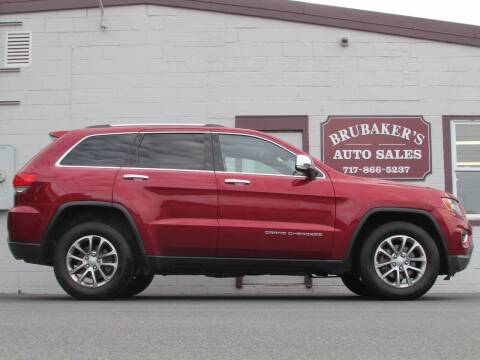 2015 Jeep Grand Cherokee for sale at Brubakers Auto Sales in Myerstown PA