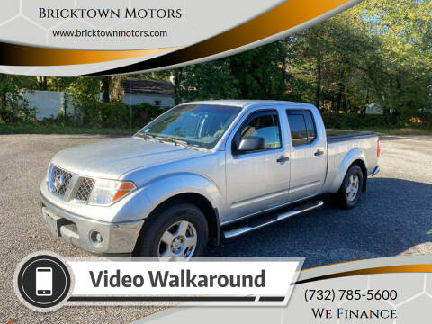 2007 Nissan Frontier for sale at Bricktown Motors in Brick NJ