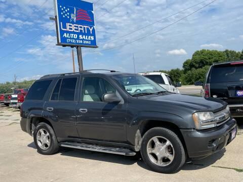 2007 Chevrolet TrailBlazer for sale at Liberty Auto Sales in Merrill IA