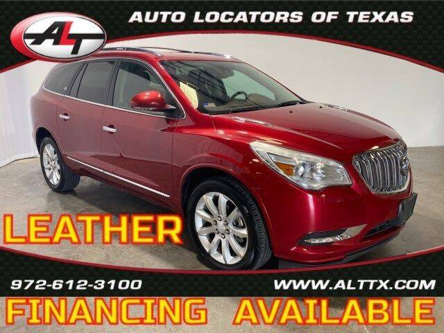 2014 Buick Enclave for sale at AUTO LOCATORS OF TEXAS in Plano TX