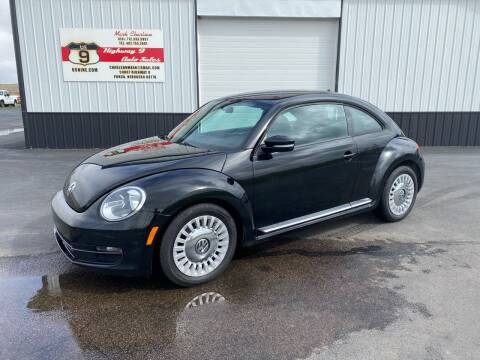 2014 Volkswagen Beetle for sale at Highway 9 Auto Sales - Visit us at usnine.com in Ponca NE