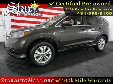 2014 Honda CR-V for sale at STAR AUTO MALL 512 in Bethlehem PA