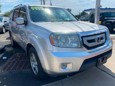 2010 Honda Pilot for sale at GRAND USED CARS  INC in Little Ferry NJ