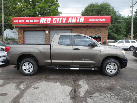 2010 Toyota Tundra for sale at Red City  Auto in Omaha NE