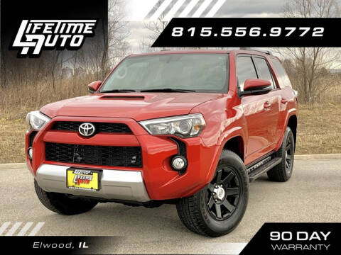 2015 Toyota 4Runner for sale at Lifetime Auto in Elwood IL
