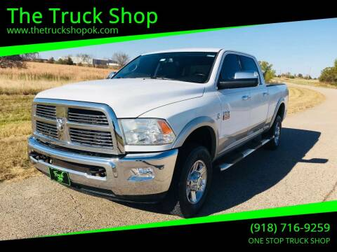 2010 Dodge Ram Pickup 2500 for sale at The Truck Shop in Okemah OK